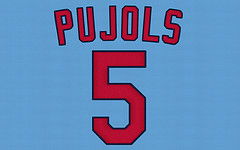 Albert Pujols - St. Louis - 2005 Turn Back the...